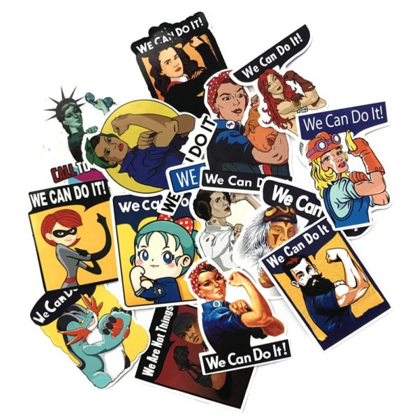 Rosie the Riveter Stickers