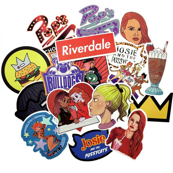 riverdale laptop stickers