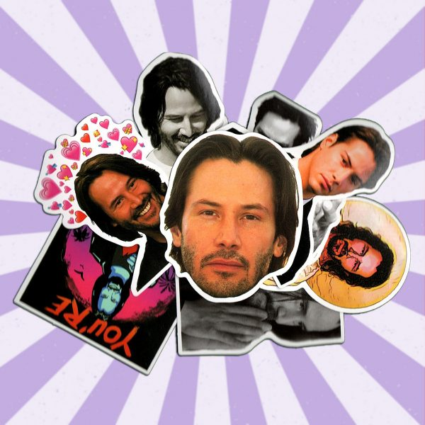 Keanu Reeves Laptop Stickers
