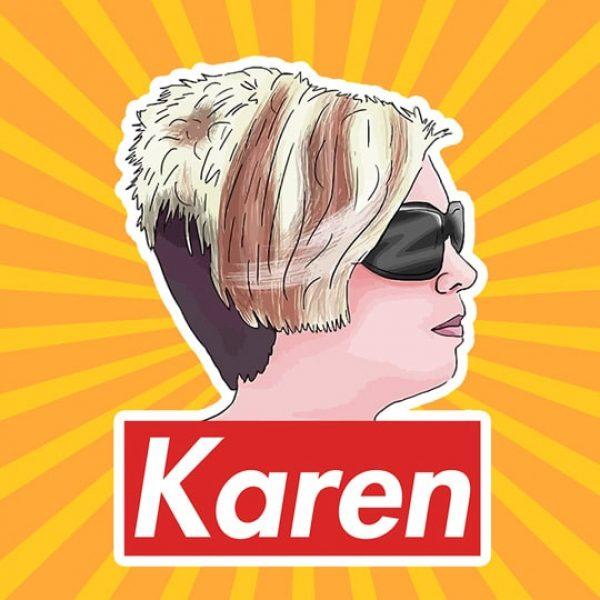 Karen Meme Sticker